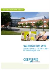 Qualitätsbericht Oder-Spree Krankenhaus 2015